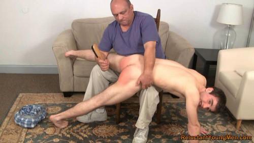Gay BDSM Trey Gets the Brush