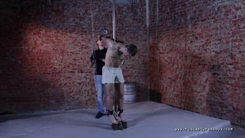 Gay BDSM The Training of Slave Zhenya - Final Part 3