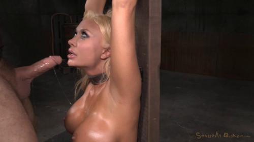 BDSM Beautiful Big Breasted Blonde