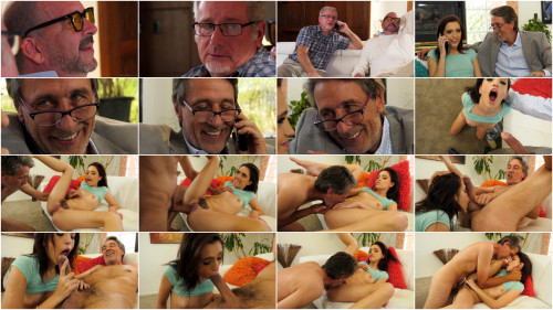 Old and Young Brooke Haze - Horny Old Dude (2018)