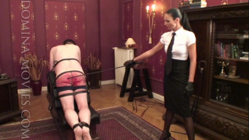 Femdom and Strapon Caning therapy - Madame Catarina
