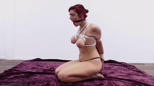 BDSM Arabella - breast bondage