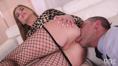 Femdom and Strapon Dominant Taming - Sarah Sultry and Mugur - Full HD 1080p