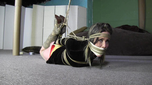 BDSM Long Leggy Jane Gets All Tied Up - HD 720p