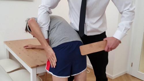 Gay BDSM Bohdan Paddled