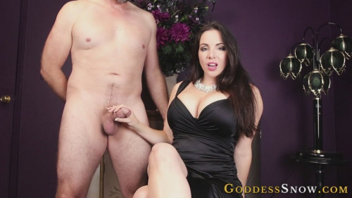 Femdom and Strapon Ready For Real Cock