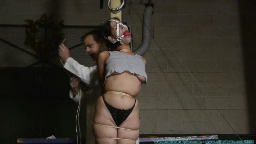 BDSM Cruel Gags, Strait Jacket, Twine, Plastic Wrap, and Tape for Summer - Part 2