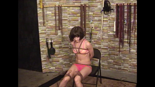 bdsm Elise In Pink and Ropes Part One