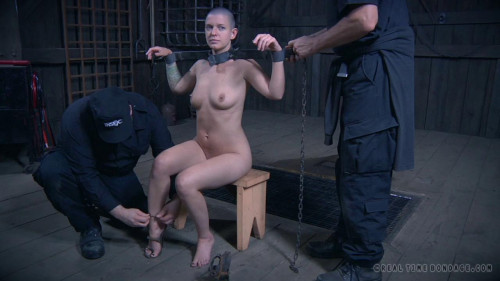 BDSM Metal Bondage - Abigail Dupree