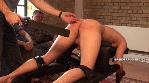 Gay BDSM Spanked for Mike