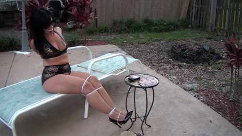 BDSM Brutally Bound By The Pool