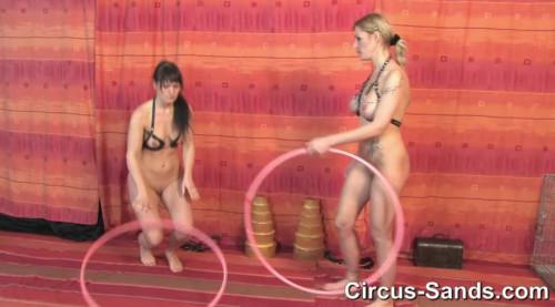 BDSM Hula Hoop Jenna Jane and Yvette Costeau