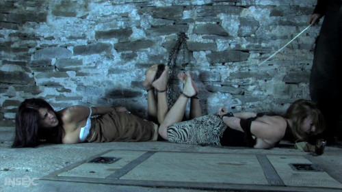 BDSM A Two Girl Predicament - Brina James, Lavender Rayne and PD - HD 720p