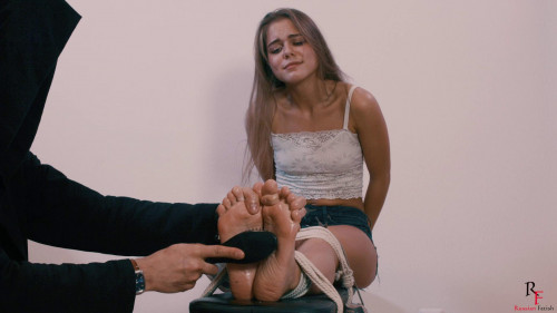 BDSM Tickling hell for Leya part 2 continuation (2018)