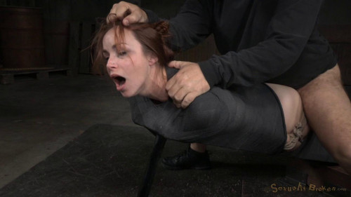 BDSM Big Boobed Bella Rossi Roughly Fucked In Inescapable Bondage By Bbc!