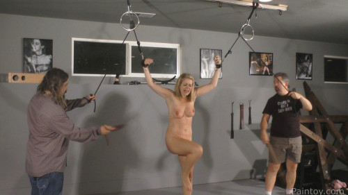 BDSM Winnies Double Whipping