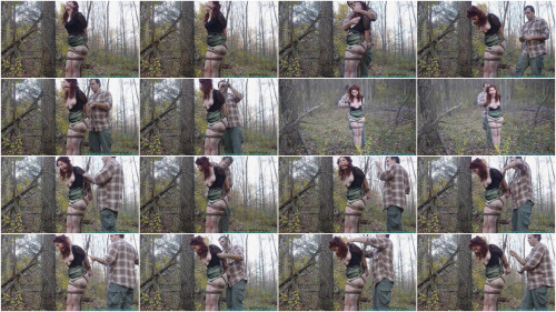 BDSM HD Bdsm Sex Videos The Woods and Tree Tied Part 2