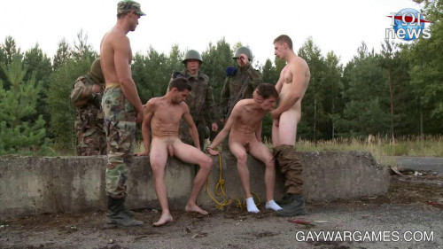 Gay BDSM A Terrorist Attack - part 04
