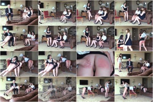 BDSM Spanked for Twerking