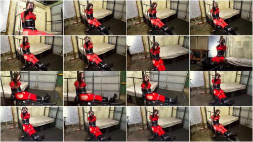 BDSM SBound - Rachel Adams.. Bench Bound Prisoner