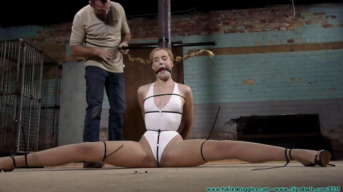BDSM Bondage, domination, spanking and torture for very sexy blonde Full HD1080