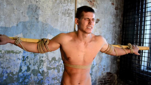 Gay BDSM RusCapturedBoys - New Slave Yaroslav - Final