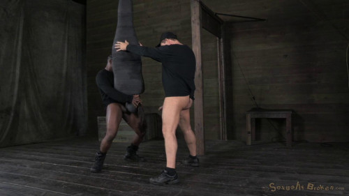 BDSM Avn award winner India Summer mummified and suspended upside down