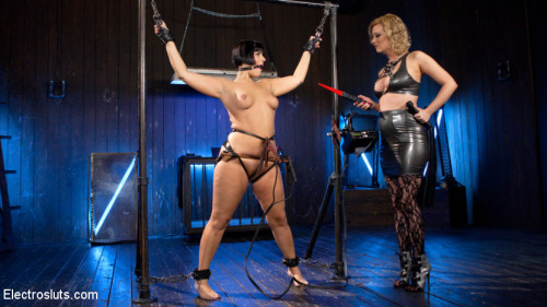 BDSM Insatiable Electroslut!