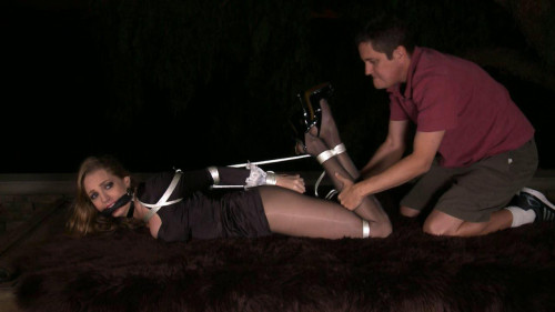 bdsm Maid To Hogtie