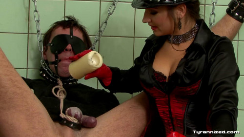 Femdom and Strapon Extreme Cock and Ball Femdom Play - Full HD 1080p