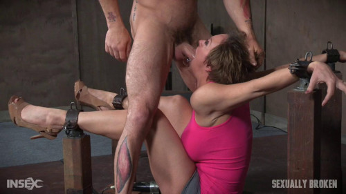 bdsm Dee Williams Shows Off Amazing Cock Sucking Skills Bondage Vibrated Multiple Orgasms (2016)