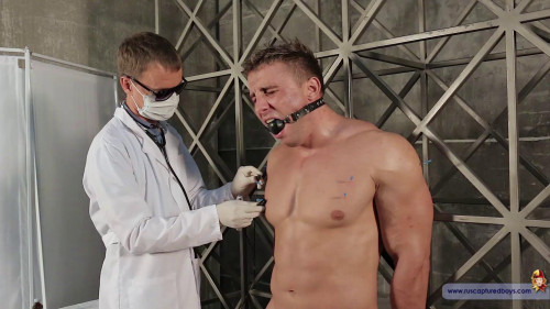 Gay BDSM Medical Experiment with Slave Denis