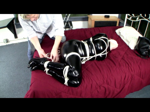 BDSM Latex Overpowered in Pvc