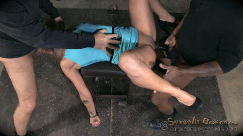 BDSM Mia Austin Handcuffed and Roughly Fucked