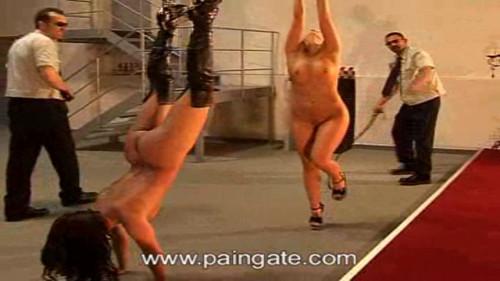 BDSM Prison Gate - Human balance