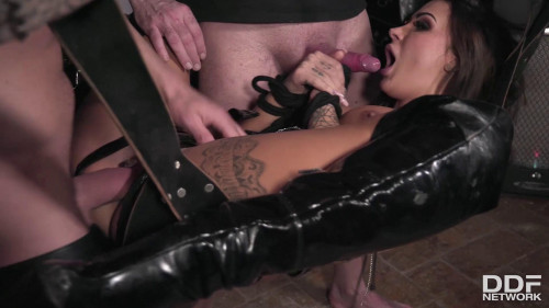 BDSM Threesome in a Dungeon - Susy Gala - Full HD 1080p