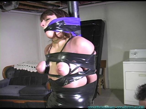 BDSM Lilly Taped And Mummified - Scene 2