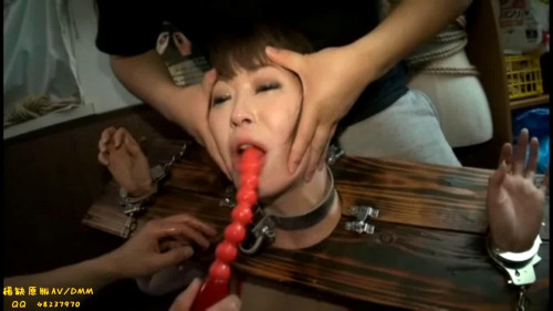Asians BDSM Slave Vomiting bondage humilation