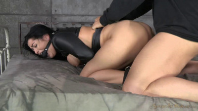 BDSM Big Breasted Katrina Jade Gets Manhandled