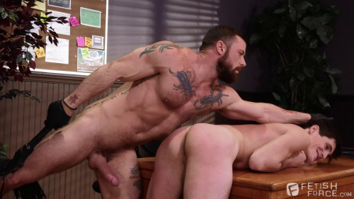 Gay BDSM Sexual His ASSment, Scene 04: Sergeant Miles, Tony Orlando