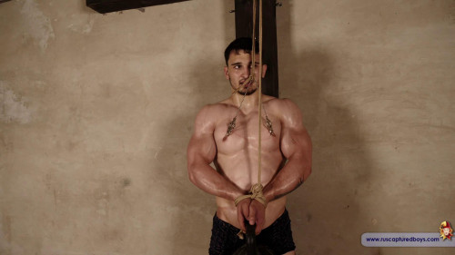 Gay BDSM Prisoners Competition - Andrei - Part IV