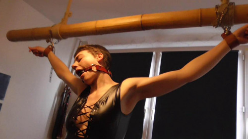 BDSM Homebound Flogging Session for Muriel - HD 720p