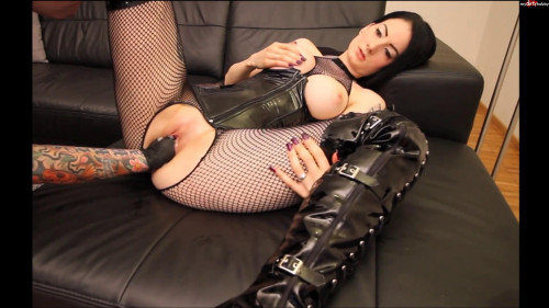 Fisting and Dildo My first fisting video with Ruby Doll