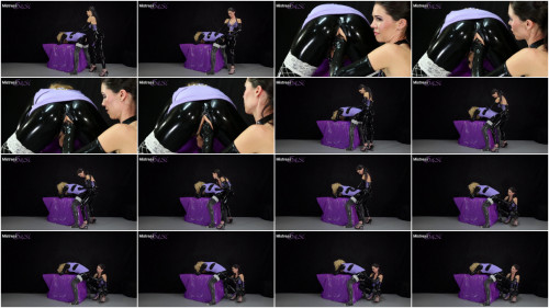 Femdom and Strapon MistressSusi - Strapon and Milking for the Shy Rubber Sissy