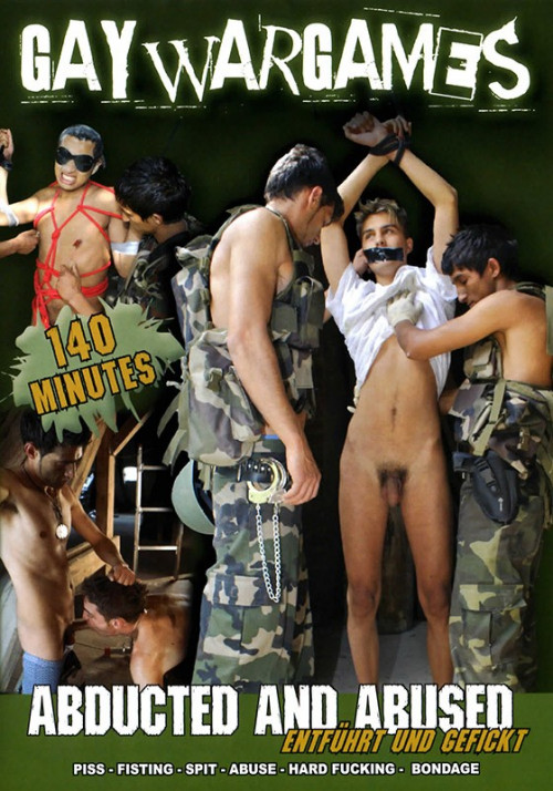 Gay BDSM Abducted and Abused(Gay War Games)