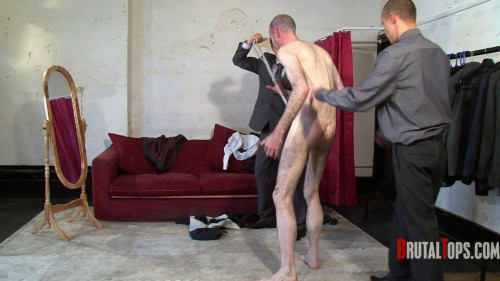 Gay BDSM Suited & Booted Oral Bullies
