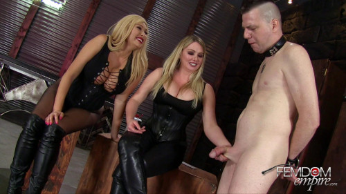 Femdom and Strapon Filthy Boot Fucker