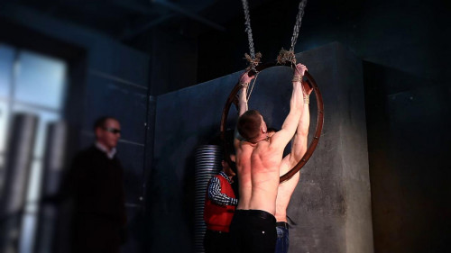 Gay BDSM RusCapturedBoys - The caught saboteurs 2