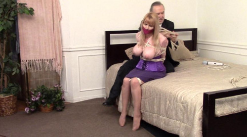 BDSM The Case of the Captured Detective Part two Starring Miss Purple