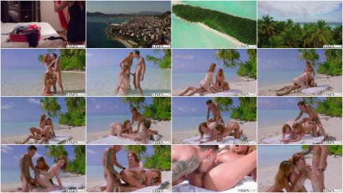 Threesome Jia Lissa & Agatha Vega - Jia Episode 1